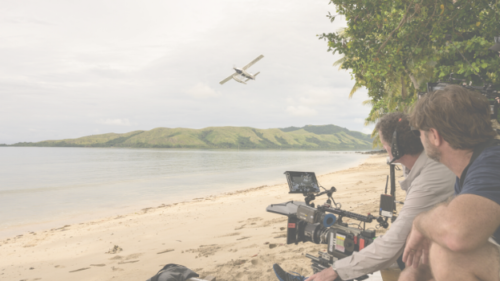 Fantasy Island on set